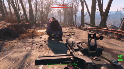 The Fallout Trilogy wallpaper containing a lumbermill called Fallout4 E3 YaoGuai