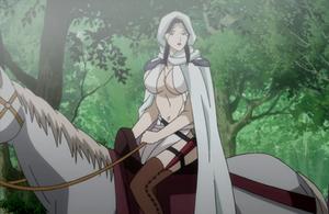 Farangis on horseback