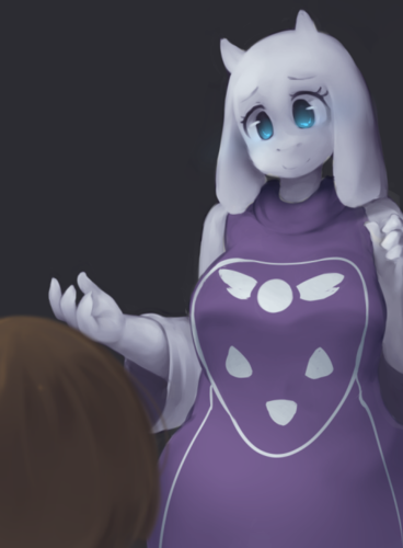 UNDERTALE-The Game wallpaper entitled First Encounter