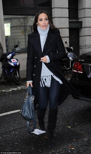 Frankie leaving the ITV studios