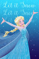 La Reine des Neiges Holiday Card