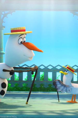 Frozen Olaf phone kertas dinding