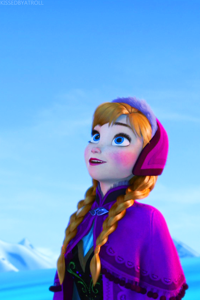 Frozen phone wallpaper - Anna and Kristoff Photo (39113461 ...
