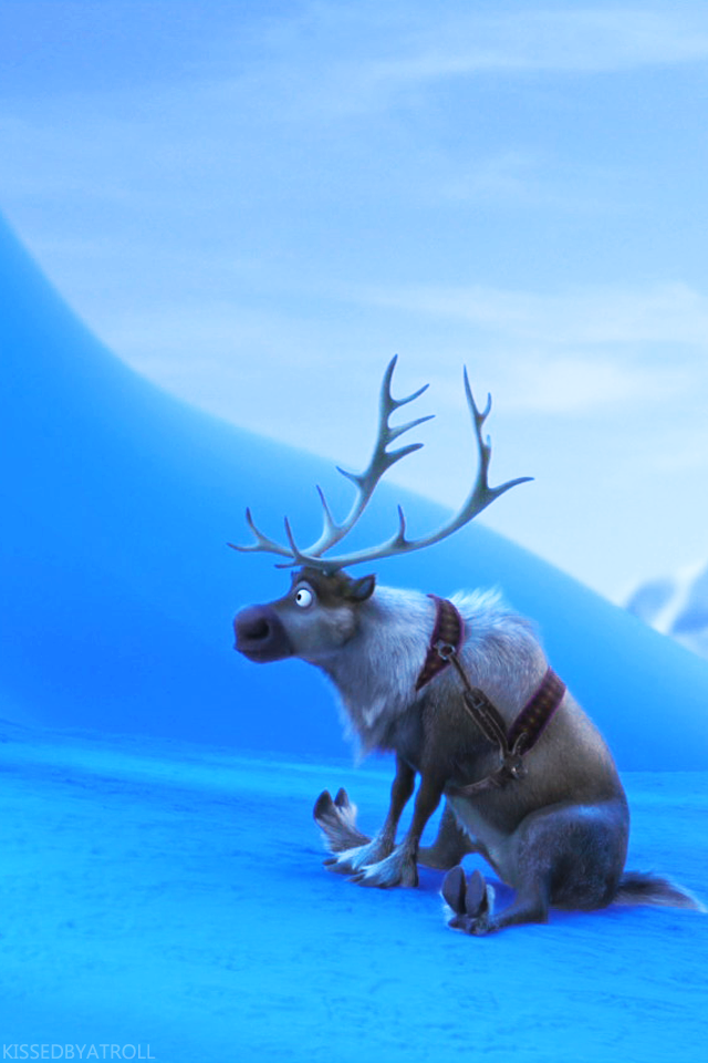 Frozen phone wallpaper - Olaf and Sven Photo (39113538 ...