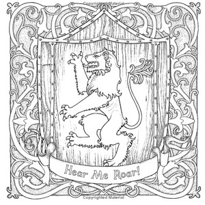 Game of Thrones- Coloring Book