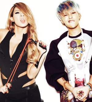 Gdragon andCL( skydragon)♔♥
