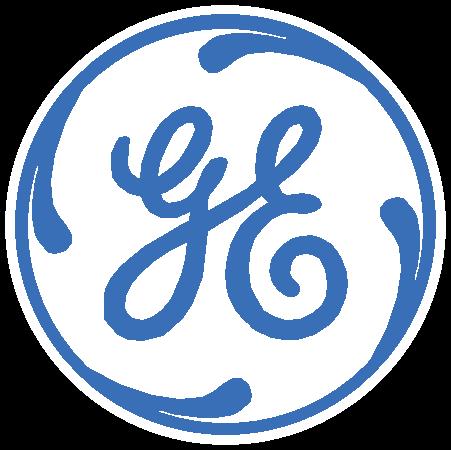 General Electric Logo Blue 2