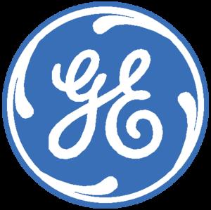 General Electric Logo Blue