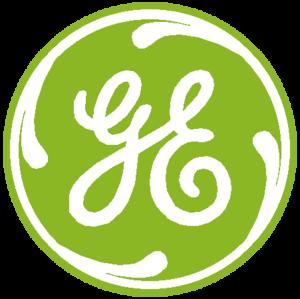 General Electric Logo Green