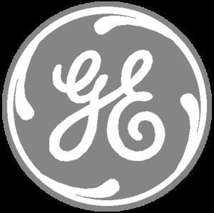 General Electric Logo Grey