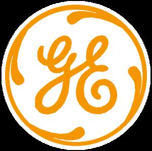 General Electric Logo machungwa, chungwa 2