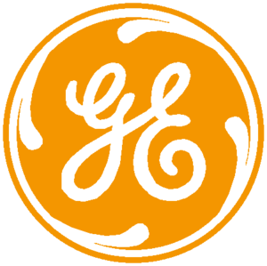 General Electric Logo नारंगी, ऑरेंज