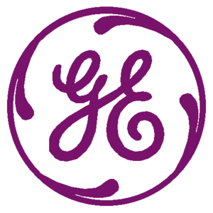 General Electric Logo Purple 2