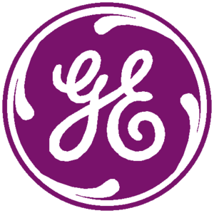 General Electric Logo Purple