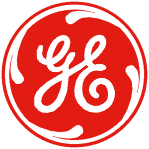 General Electric Logo Red