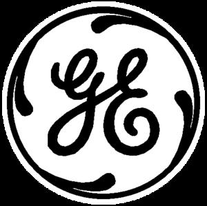 General Electric Logo White