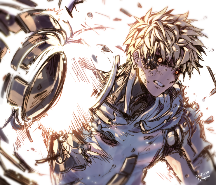 one punch man genos - photo #14