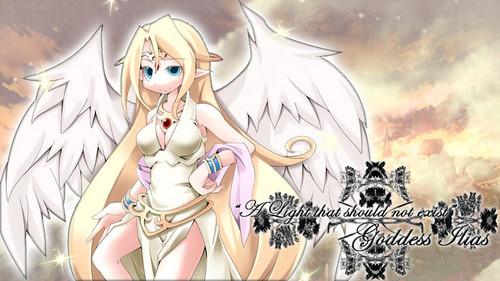 Monster Girl Quest پیپر وال probably with عملی حکمت entitled Goddess Ilias