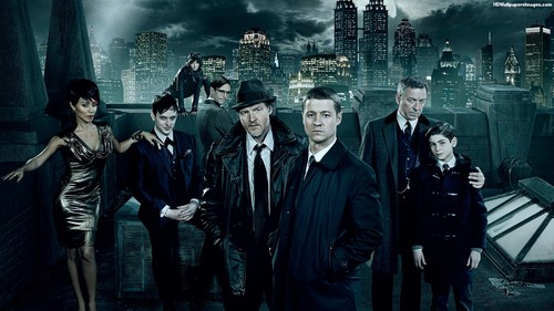 Gotham wallpaper possibly with a business suit called Gotham