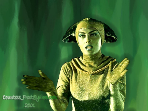 Lost In Space wallpaper entitled Green Mist Lady (1)