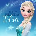 Happy Birthday Elsa