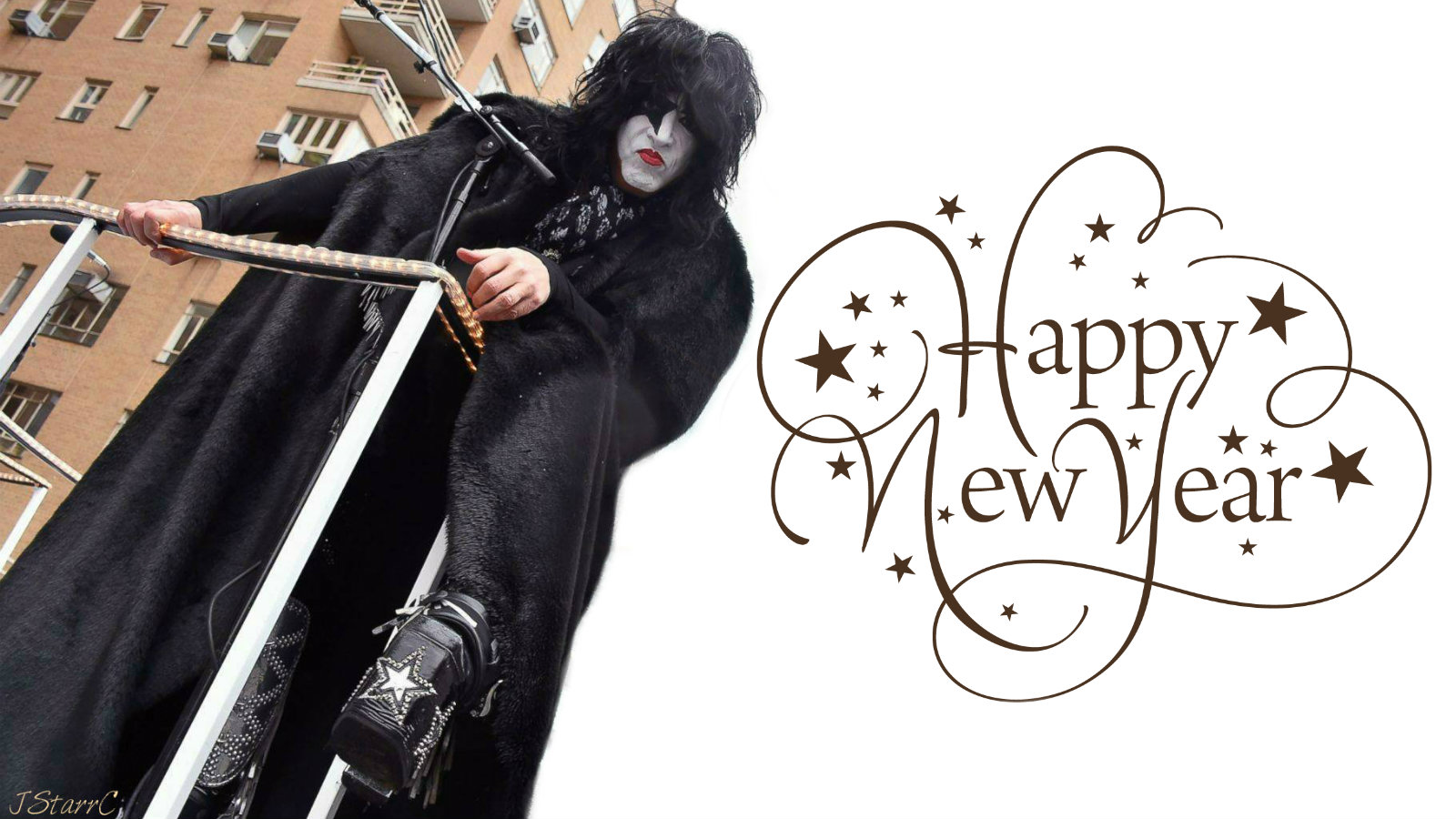Happy New Year - KISS Wallpaper (39171155) - Fanpop