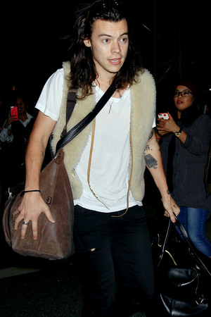 Harry at LAX