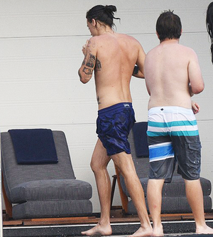 Harry in St. Barts