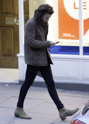 Harry out in London