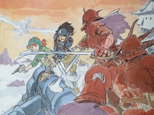 Hayao Miyazaki - The Art of Nausicaä Of The Valley Of The Wind - Watercolor Impressions