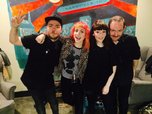Hayley and CHVRCHES