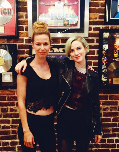 joy williams and hayley relationship