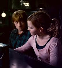 Hermione Granger with ron