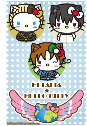 Hetalia×Hello Kitty