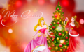 Holiday Princess - Aurora  - disney-princess wallpaper