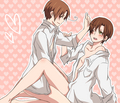 Itacest - hetalia-couples fan art