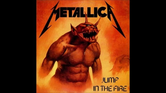The Headbangers M Images JUMP IN THE FIRE BY METALLICA Wallpaper And Background Photos