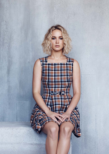Jennifer Lawrence wallpaper possibly with bare legs and a playsuit called Jennifer Lawrence - Elle Malaysia Photoshoot - January 2016