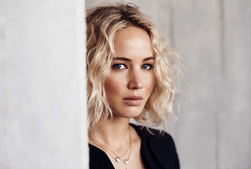 Jennifer Lawrence wallpaper containing a portrait and attractiveness titled Jennifer Lawrence - Elle Malaysia Photoshoot - January 2016