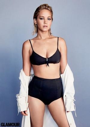 Jennifer Lawrence - Glamour Photoshoot - January 2016