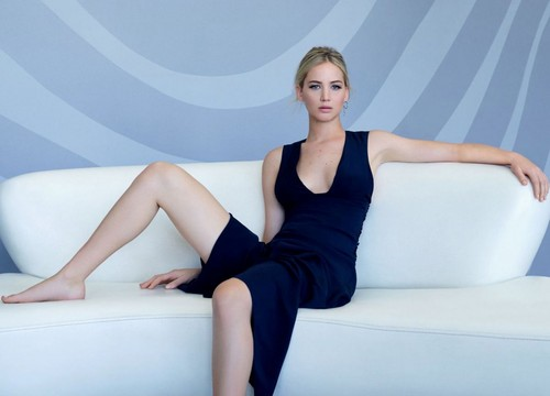 Jennifer Lawrence hình nền containing tights and a leotard entitled Jennifer Lawrence - L'Officiel Magazine China Photoshoot - January 2016