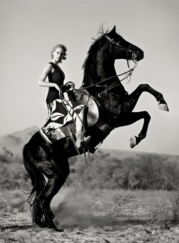 Jennifer Lawrence wallpaper containing a horse trail, a horse wrangler, and a lippizan called Jennifer Lawrence - Vogue Photoshoot - December 2015