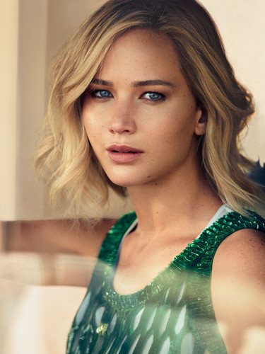 jennifer lawrence wallpaper with a portrait called Jennifer Lawrence - Vogue Photoshoot - December 2015