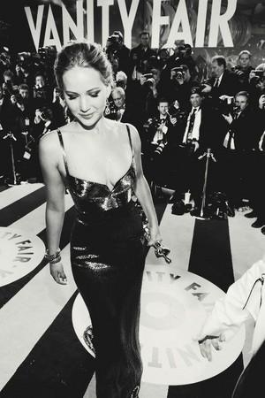 Jennifer with an award