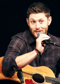 Jensen With a Guitar - jensen-ackles photo