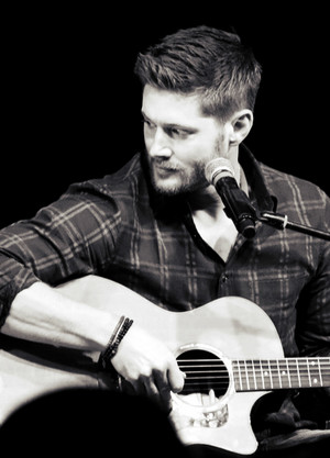 Jensen With a gitar