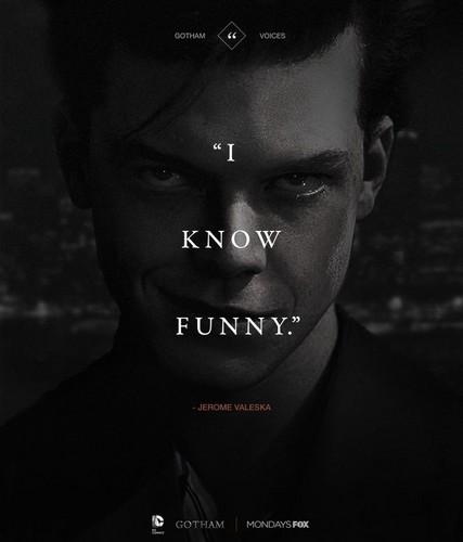 Gotham wallpaper entitled Jerome Valeska