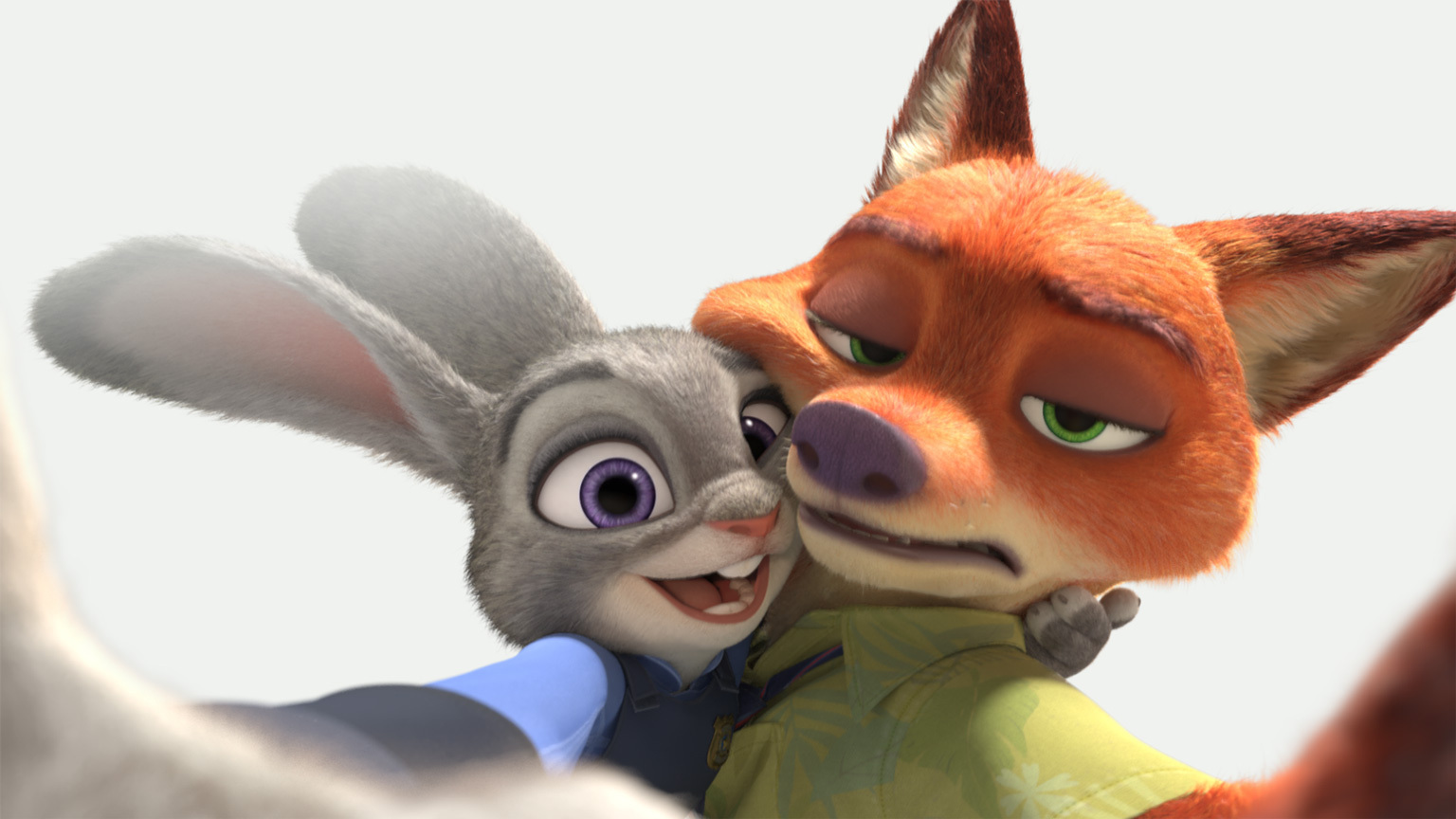 Judy and Nick - Selfie
