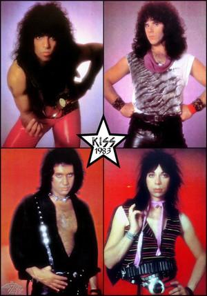 吻乐队(Kiss) 1983