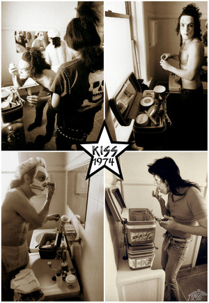 KISS ~Birmingham, Michigan…May 13, 1974 (Creem Magazine Office)